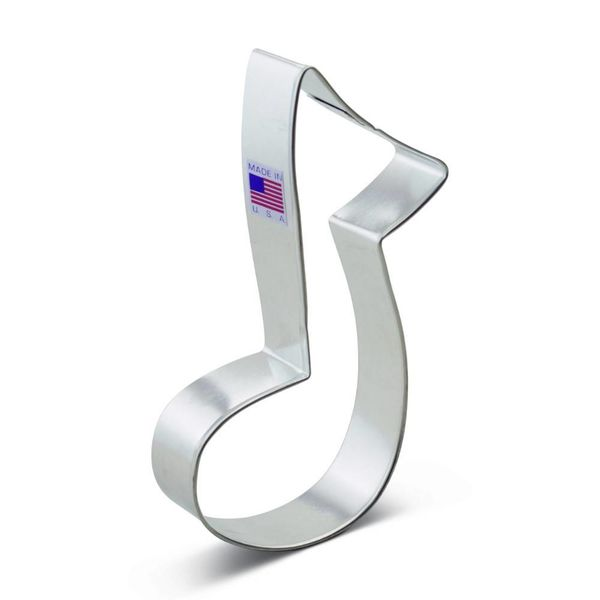 Ann Clark Cookie Cutter Music Note  5''