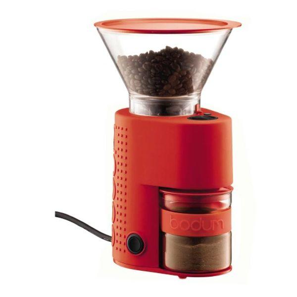 Moulin à café rouge Bistro Burr de Bodum
