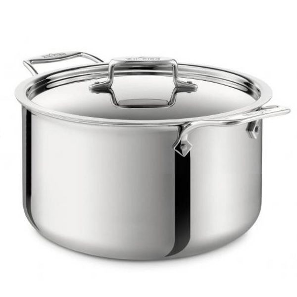 All-Clad Polished D5 7.6 L Stock Pot with Lid