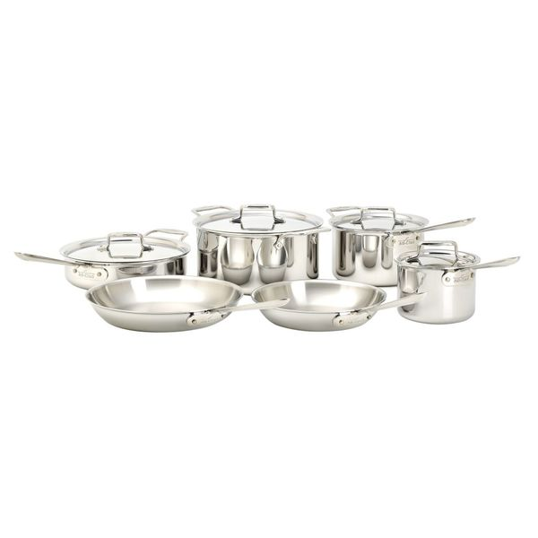 All-Clad Polished D5 10 Piece Set