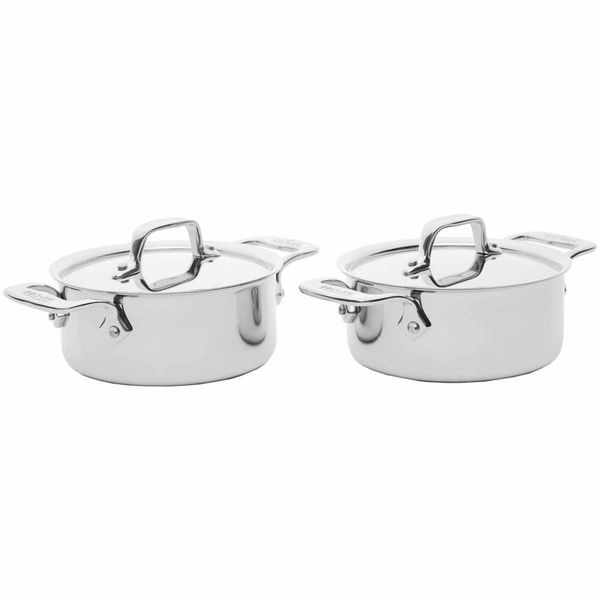 All-Clad .5 L Stainless Steel Mini Cocotte