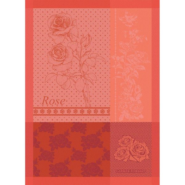 Garnier-Thiebaut Rose Kitchen Towel