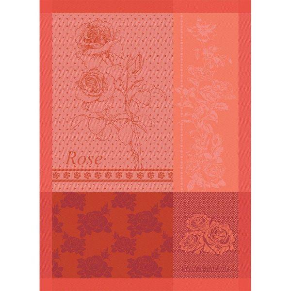 Linge à vaisselle Rose de Garnier-Thiebaut