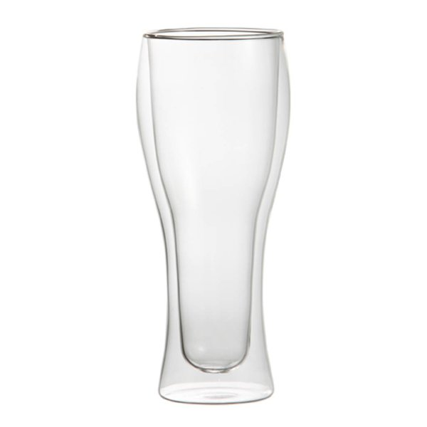 Trudeau Set of 2 Duetto Pilsner Glasses