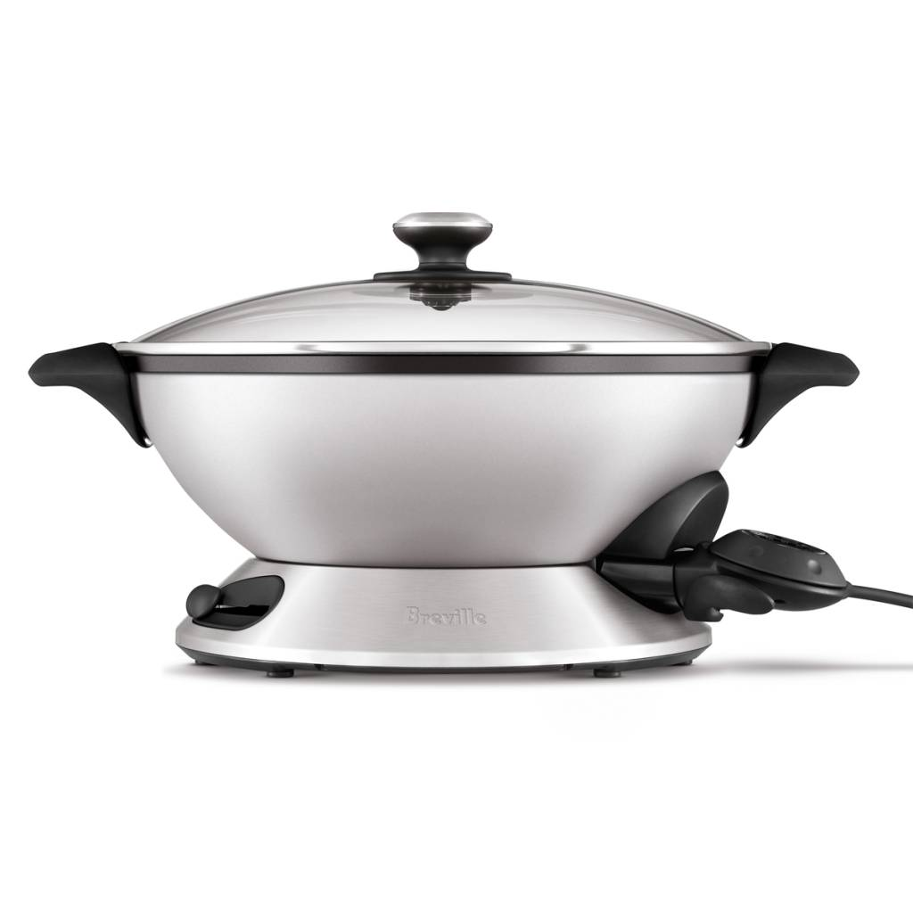 Le hot wok pro de breville ares cuisine for Articles de cuisine ares
