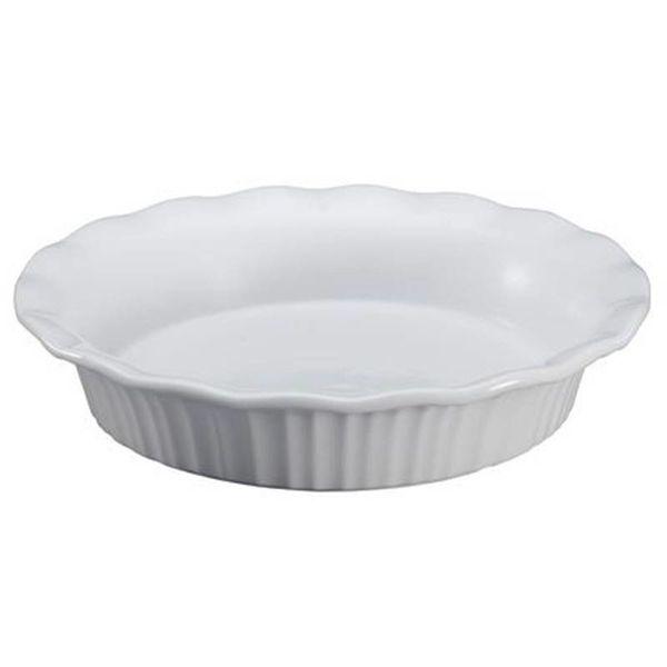 Assiette à tarte de Corningware