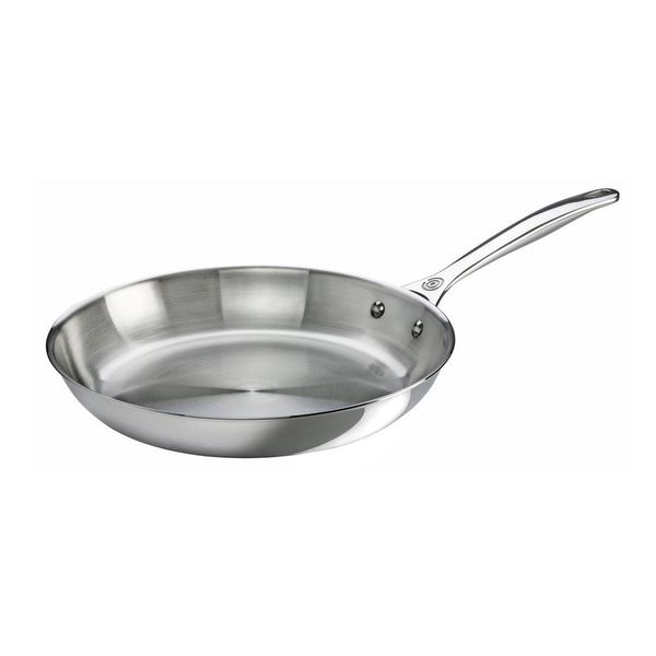 Le Creuset 30cm Stainless Steel Fry Pan
