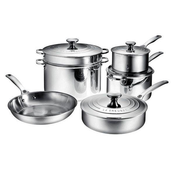 Le creuset ares cuisine for Cuisine en acier inoxydable