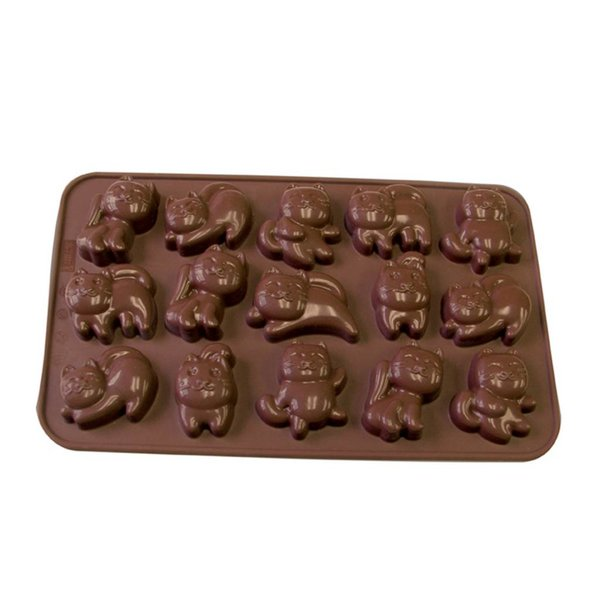 La Pâtisserie Silicone Chocolate Cat Mold