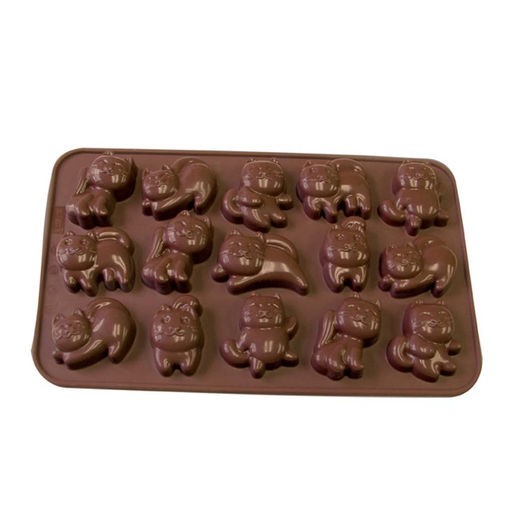 moule chocolat en silicone de la p tisserie ares cuisine. Black Bedroom Furniture Sets. Home Design Ideas