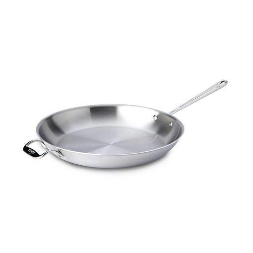 All-Clad Poêle à frire en acier inoxydable d'All-Clad 36 cm x 5 cm / Acier inoxydable