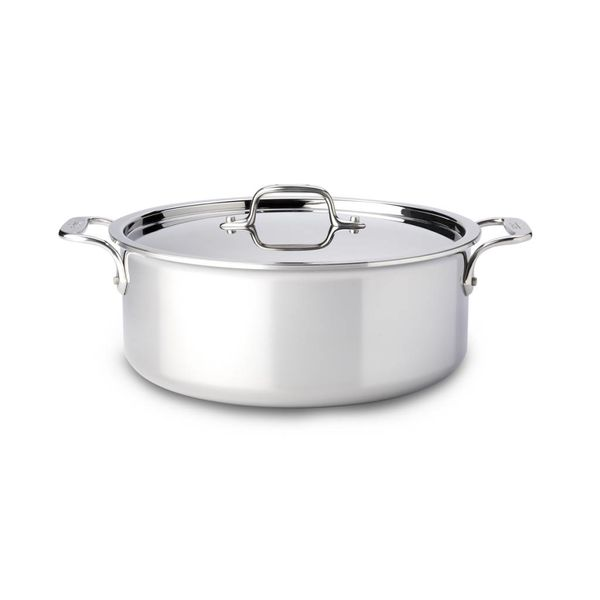 All-Clad Stainless Steel Stock Pot with Lid 5,7 L