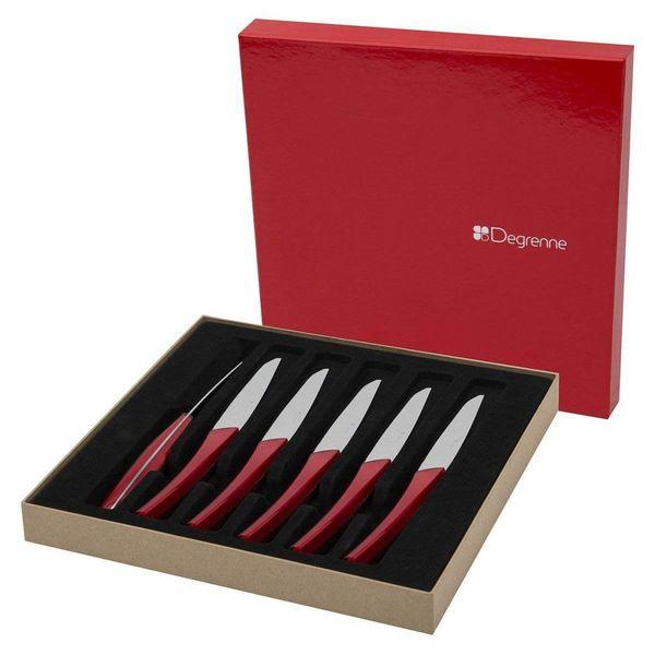 Guy Degrenne Quartz Steak Knife Set