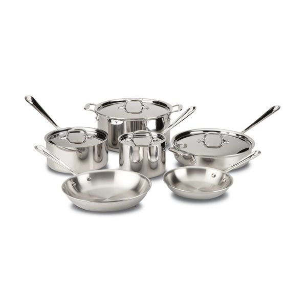 All-Clad Stainless Steel 10-Piece Set