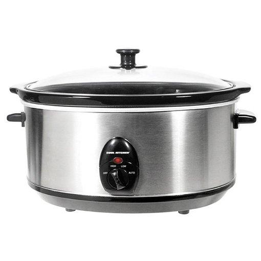 Orly Cuisine Mijoteuse en acier inoxydable de Cool Kitchen Pro 6.5 L