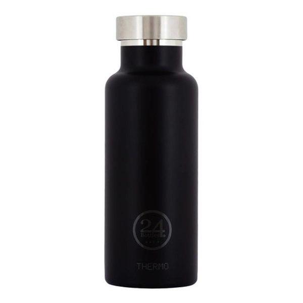 Bouteille à eau noir toxedo isotherme de 500 ml