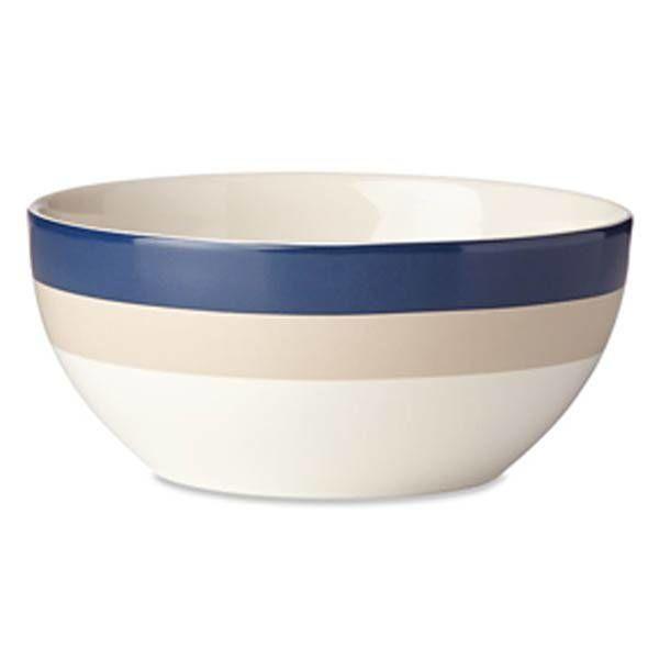 Kate Spade Rainey Stripe Serving Bowl