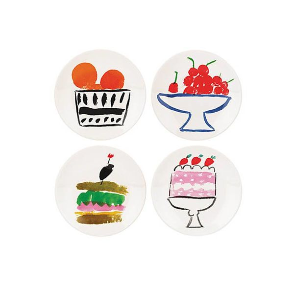 Kate Spade Pretty Pantry Appetizer Plates