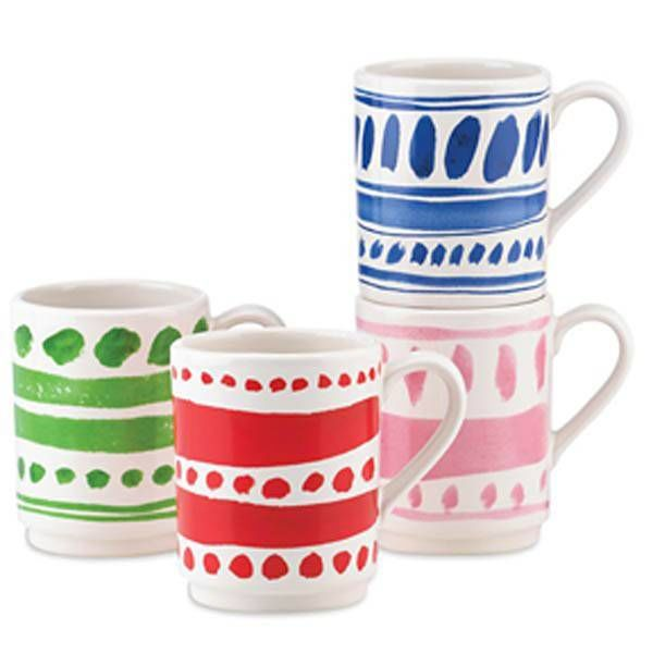 Kate Spade Pretty Pantry Stacking Mugs