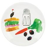 Kate Spade Pretty Pantry Sandwich Accent Plate