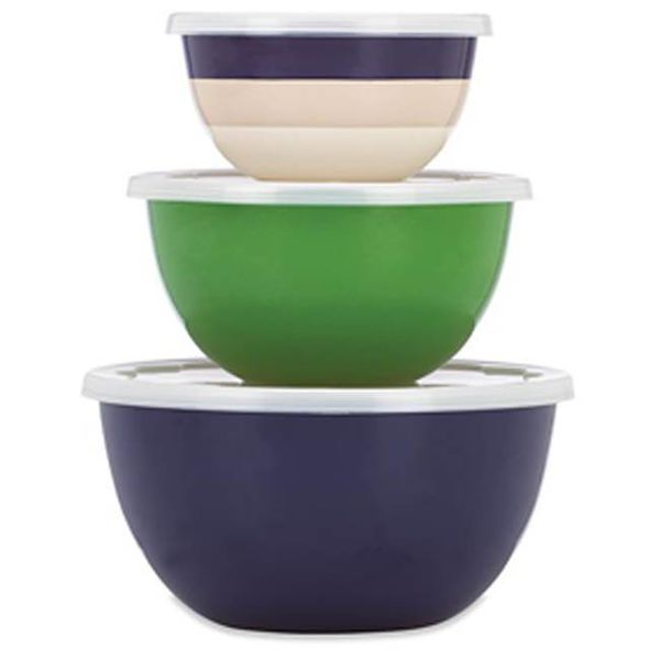 Kate Spade Rainey Stripe Serve and Store Bowls