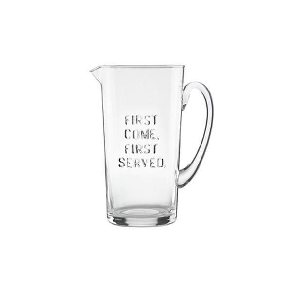 """Kate Spade """"First Come, First Served"""" Pitcher"""