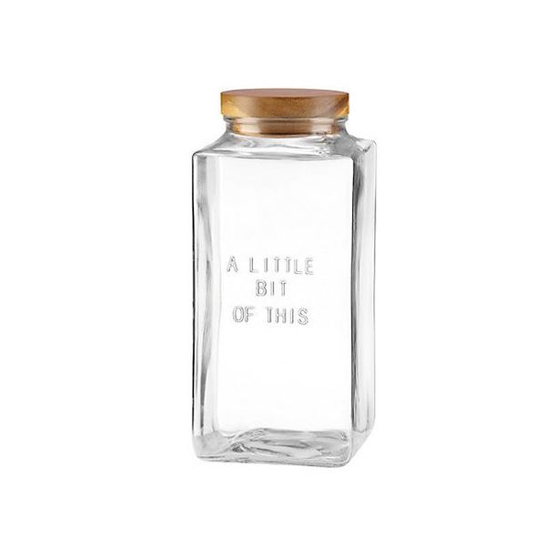 "Pot ""A little bit of this"" de Kate Spade"