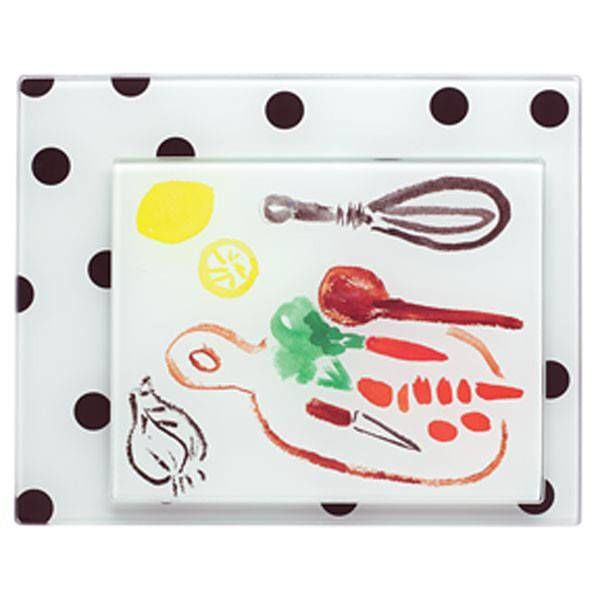 Kate Spade Deco Dot Food Prep Boards