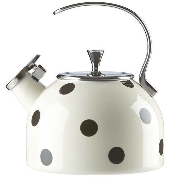 Kate Spade Deco Dot Tea Kettle