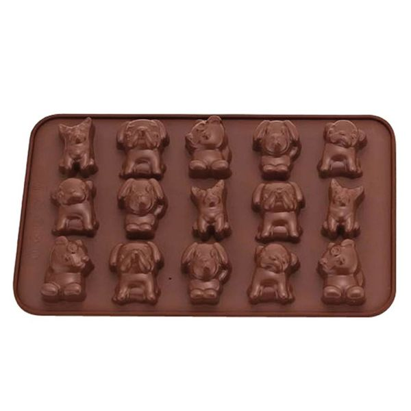 La Pâtisserie Silicone Chocolate Dog Mold