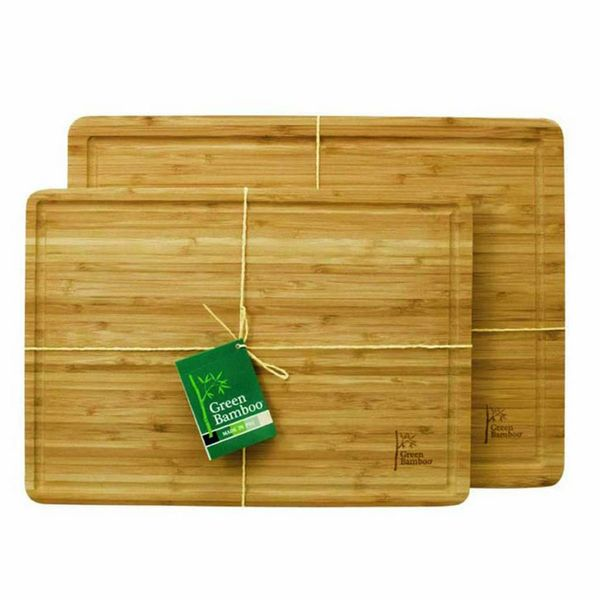 Planche à découper avec rainure de Green Bamboo 40 cm x 30 cm