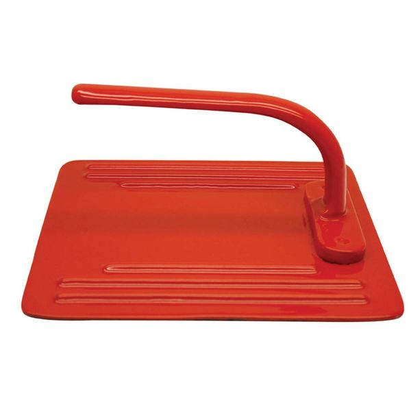 Le Cuistot Enameled Cast Iron Grill Press 20 cm Red