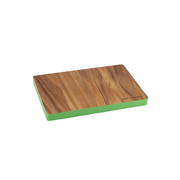 "Kate Spade ""Don't Cut Corners"" Rectangular Cutting Board"