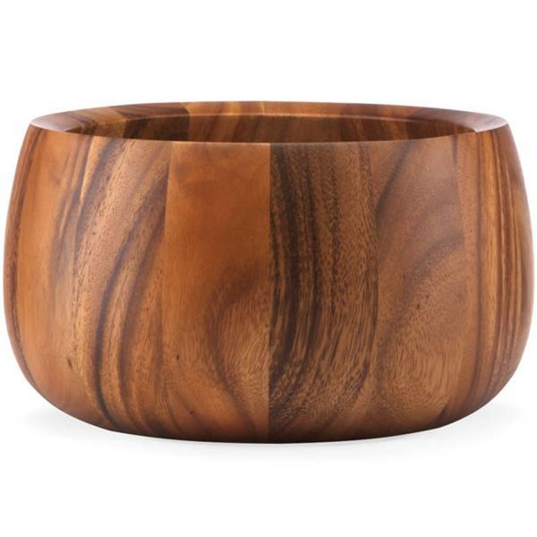 Dansk Wood Classic Tulip Salad Bowl