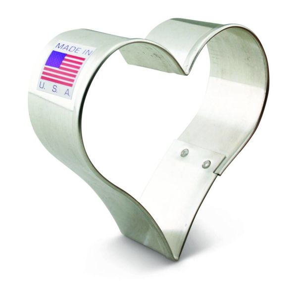 Ann Clark Cookie Cutter Heart 2 5/8''