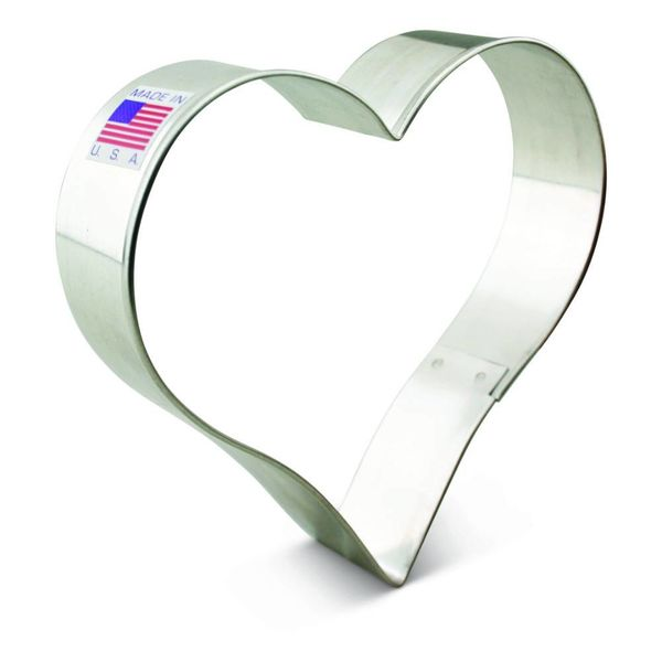 Ann Clark Cookie Cutter Heart 4''