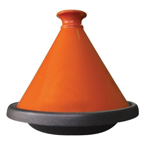 Tajine de Le Cuistot 31 cm / Fonte / Orange clair