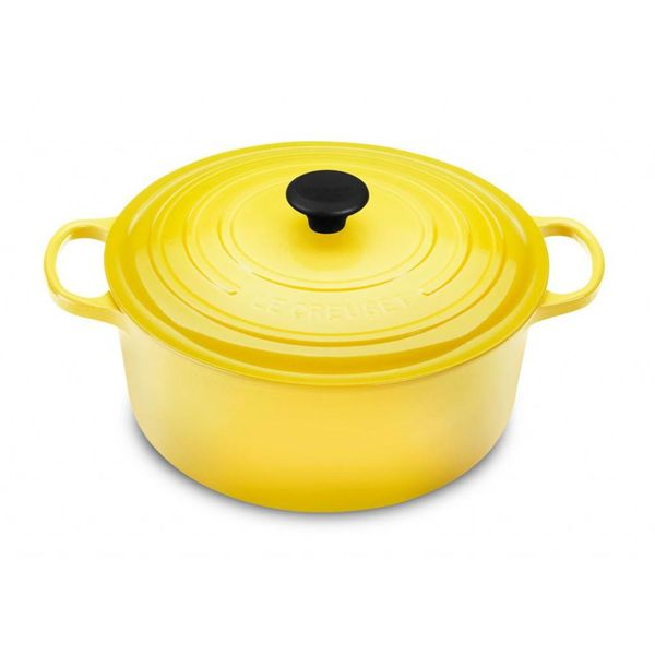 Le Creuset 5.3L Round French Oven Soleil
