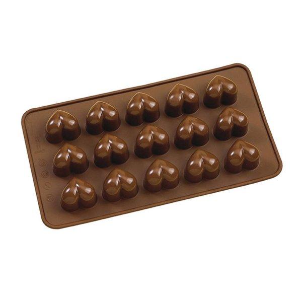 La Pâtisserie Silicone Chocolate Heart Mold