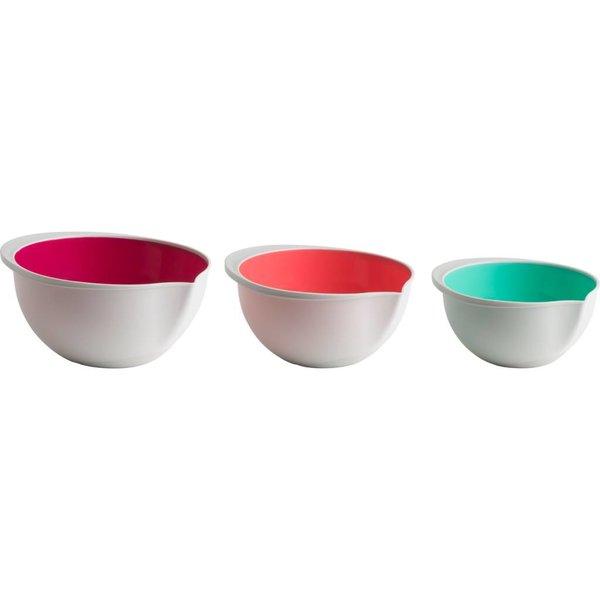 Trudeau Set of 3 Mixing Bowls