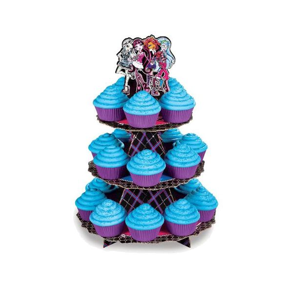 "Étagère à cupcakes ""Monster High"" de Wilton"