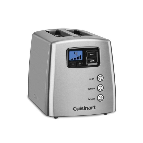 Cuisinart Countdown Lever-less 2 Slice Toaster