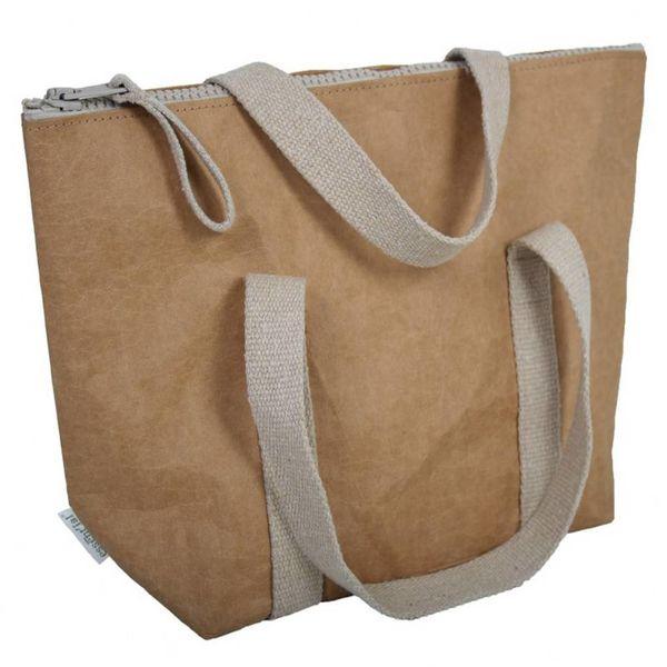 Boîte à lunch en cellulose de Essential 34 cm x 24 cm x 11.5 cm / Beige