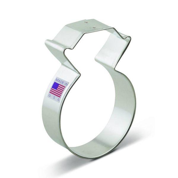 Ann Clark Cookie Cutter Diamond Ring 3.75''