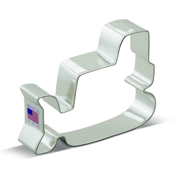 Ann Clark Cookie Cutter bulldozer 4.25""