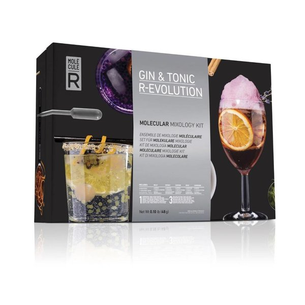 Gin tonic R-Evolution de Molecule-R