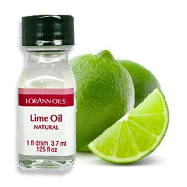 Arôme en huile lime 3,7 ml de Lorann Oil