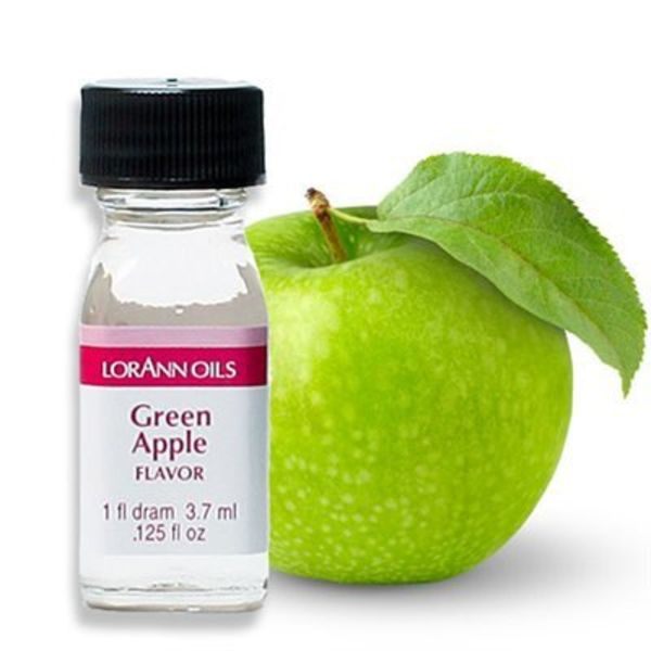 Lorann Oil Green Apple Flavour 3,7 ml