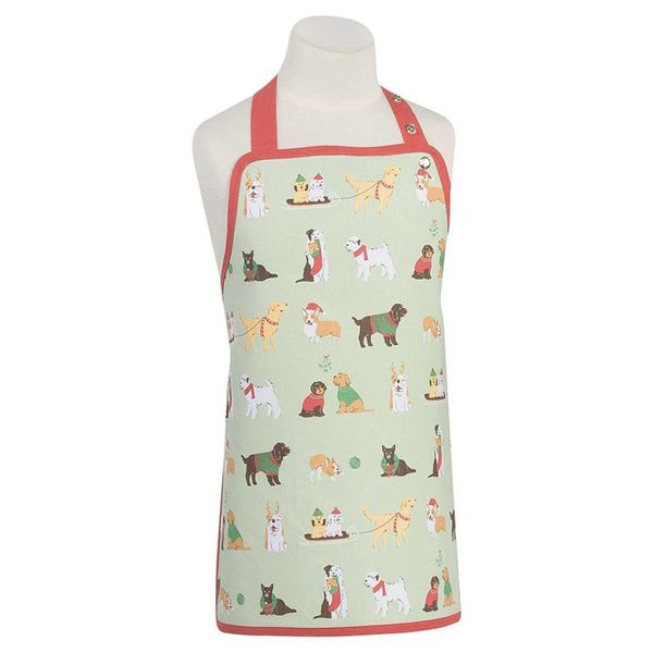 Now Designs Holiday Pups Kids Aprons