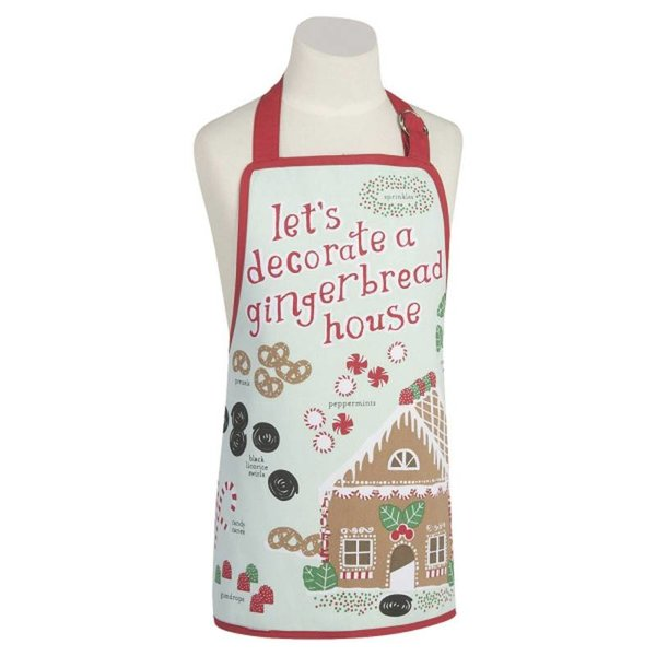 Now Designs Gingerbread House Kids Aprons